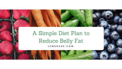 A Simple Diet Plan to Reduce Belly Fat