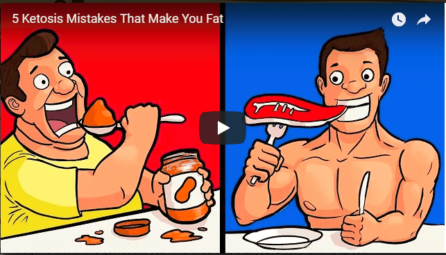 5 Ketosis Mistakes That Make YoU Fat